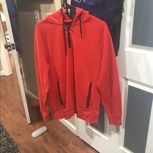 COPY - COPY - Red AEO Hoodie Sz Large like new